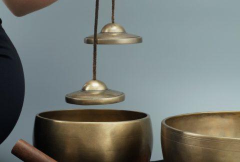 Klankschalen Meditatie